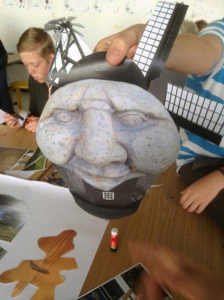 Højboskolen 7.a - kunstworkshop