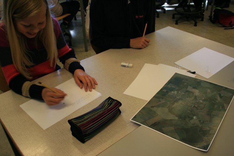 Sevel Skole, 6. klasse, proces og reportage