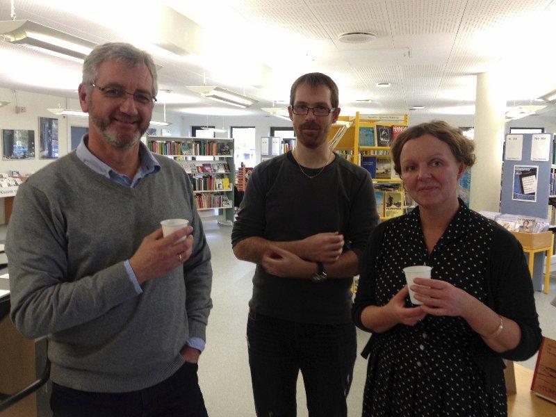 Fernisering på Vinderup Bibliotek