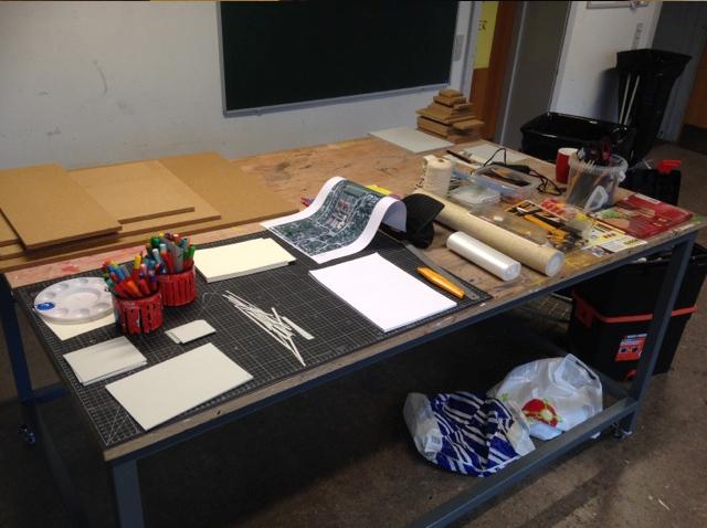 Kunstworkshop med 7.a