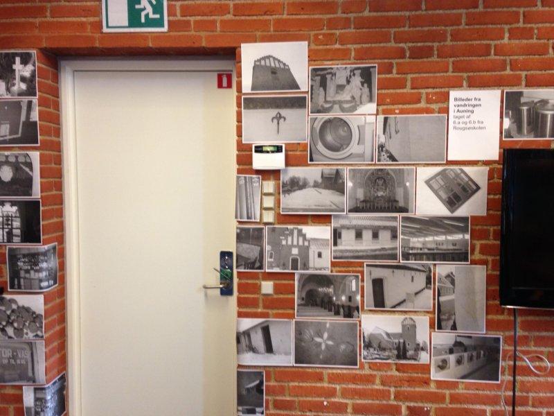 Udstillingen STED+SANS i Auning og Ørsted